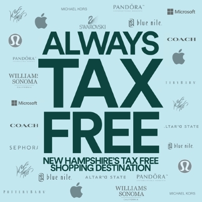 TAX FREE SHOPPING EVERY DAY