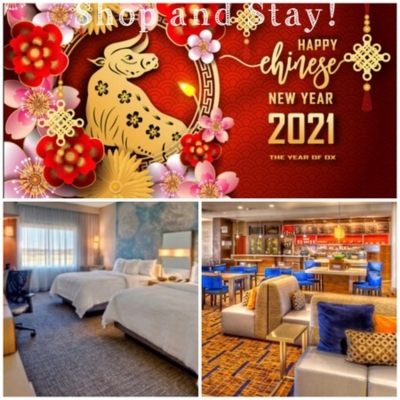 Courtyard Lunar New Year Shop and Stay Deal!