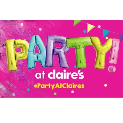More about a Party at Claire's Here