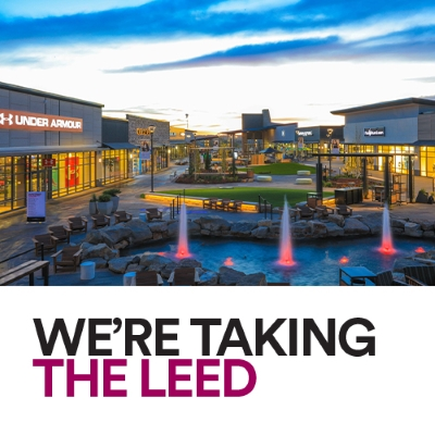 WE'RE TAKING THE LEED
