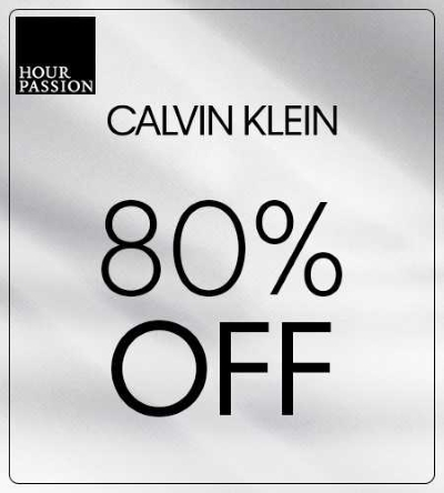 80% off Calvin Klein at Hour Passion