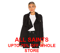 AllSaints up to 75% off