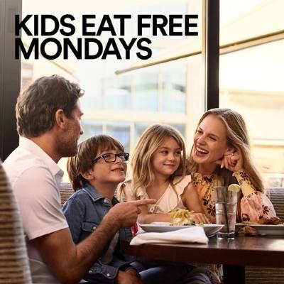 Kids Eat Free Monday Restaurant Offers