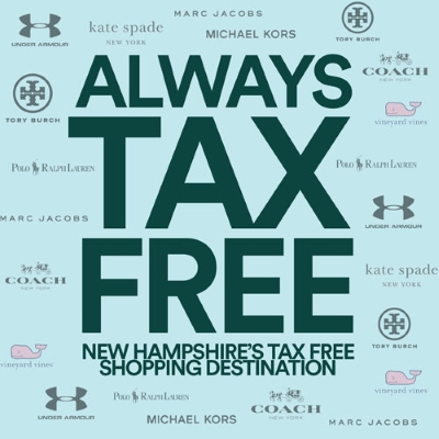 New Hampshire is ALWAYS Tax Free