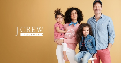 UP TO 60% OFF STOREWIDE AT J.CREW FACTORY!