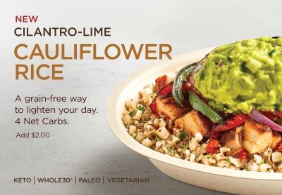Cilantro-Lime Cauliflower Rice Now Available!