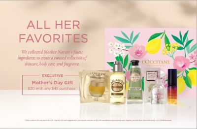 L'Occitane Mother's Day Gift