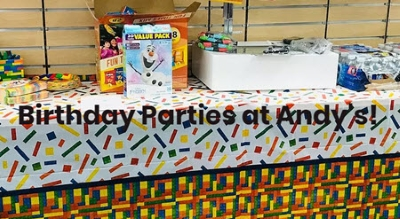 Book Your Birthday Party Today!!