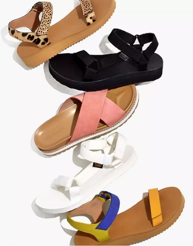 Sun's Out, Sandals On