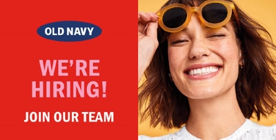 Old Navy Outlet: Now Hiring!