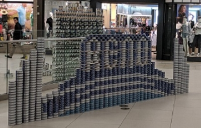 CANstruction at Meadowood Mall