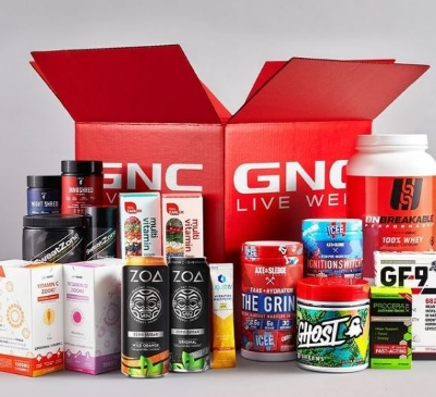 Stay fit with GNC!