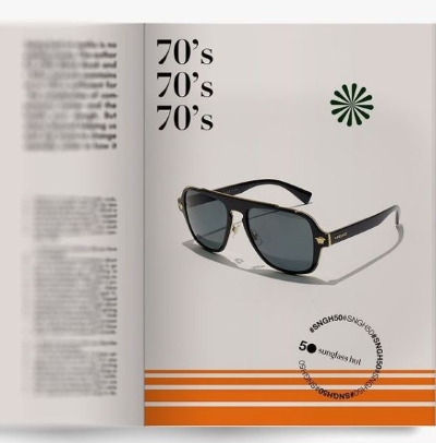 70's styled looks at Sunglass Hut!