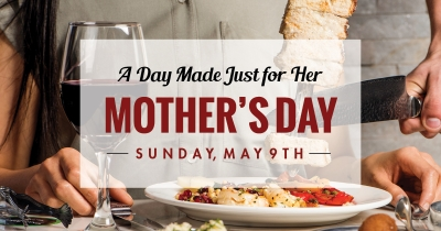 Texas de Brazil opens at 11AM on Mother's Day
