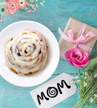 Cinnabon for Mom!