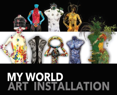 My World Art Installation