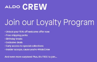 Join the crew for a discount!