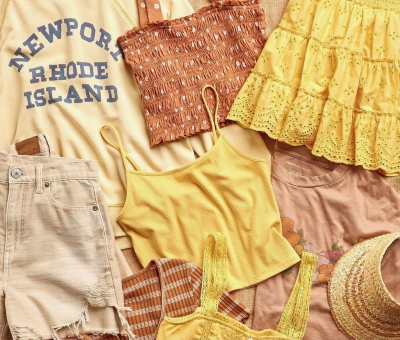 Stay Golden with American Eagle