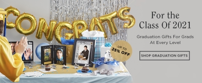 UP TO 25% OFF GRAD GIFTS