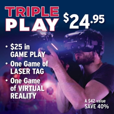 Triple Play for $24.95 at Ten Pin