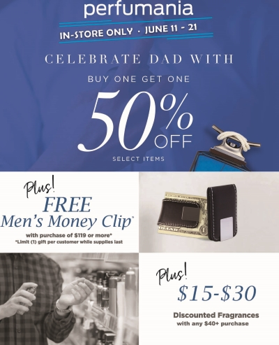 Perfumania - Fathers Day Gift with Purchase