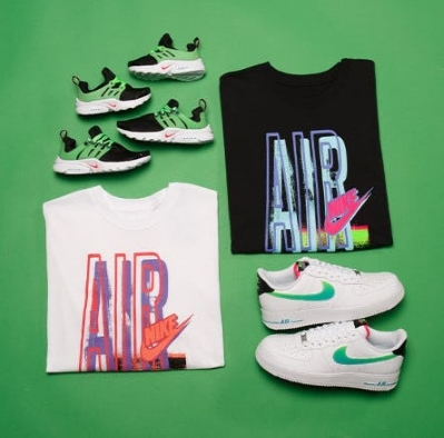 THROW IT BACK WITH THE NIKE FUTURA DNA COLLECTION