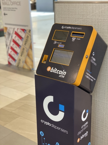 Bitcoin ATM Machine is Now Available at the Mall