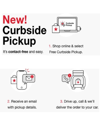 CURBSIDE PICKUP AVAILABLE AT MACY'S