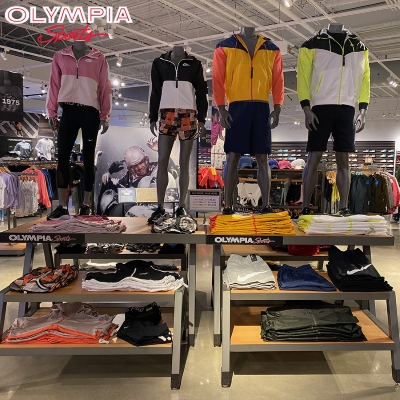 JUNE RETAILER OF THE MONTH IS OLYMPIA SPORTS