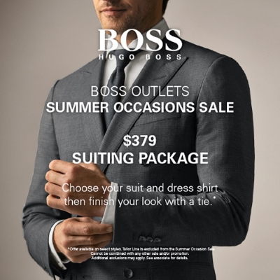 SUMMER OCCASIONS SALE | BOSS Outlets