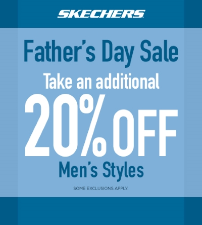 SHOP SKECHERS FATHER'S DAY SALE!
