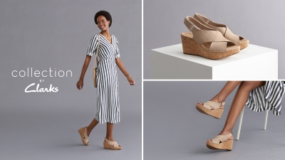 BUY ONE, GET ONE 50% OFF AT CLARKS OUTLET