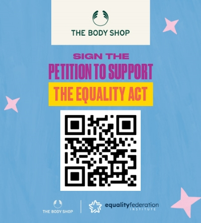 The Body Shop x Equality Federation