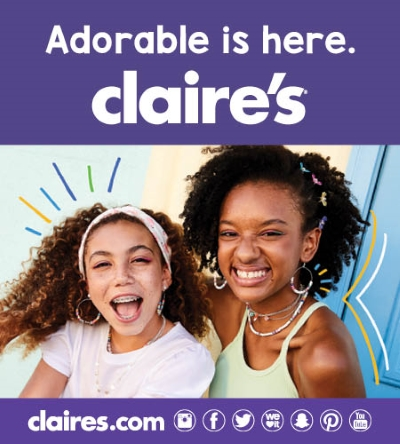 Claire's Now Open