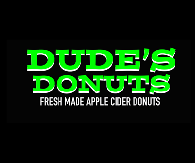 NOW OPEN   DUDE'S DONUTS