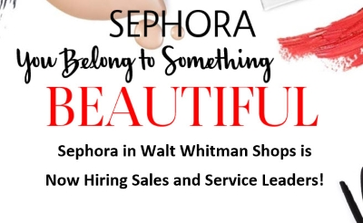 Sephora Hiring Sales and Service Leaders