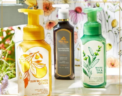 6/$27 or 4/$20 HAND SOAPS