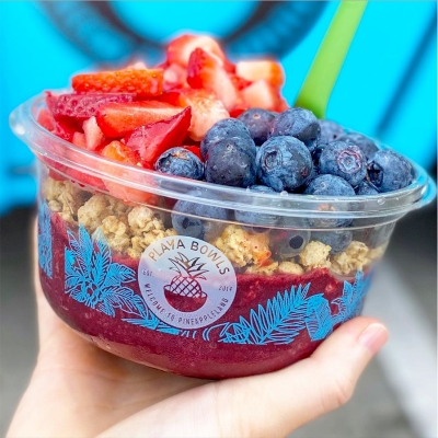 Now Open: Playa Bowls