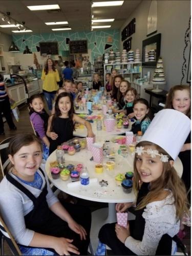 Birthday Parties at Something Sweet