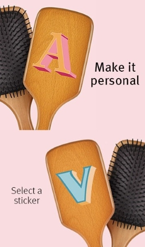 Aveda wooden paddle brush!