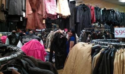 50% percent off all women & men leather!
