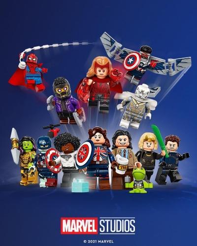 LEGO Marvel Minifigures!