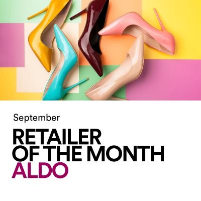 September Retailer Of The Month: ALDO