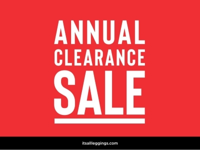 Annual Clearance Sale