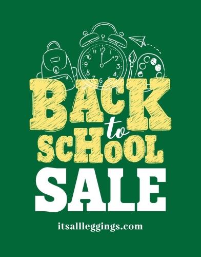 Back To School Sale