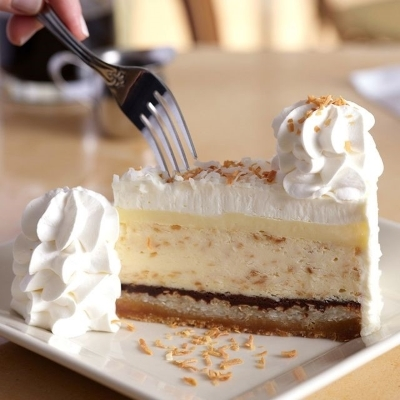 New Flavor at The Cheesecake Factory!