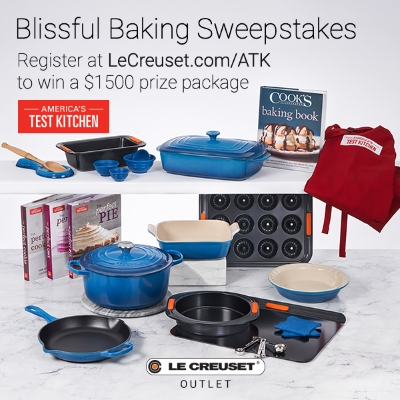 Blissful Baking Sweepstakes: Register to Win