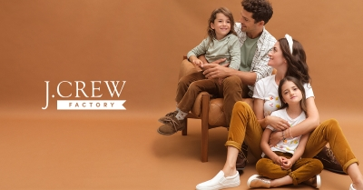 UP TO 50% OFF STOREWIDE AT J.CREW FACTORY!