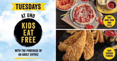 Kids Eat Free Tuesdays is Back