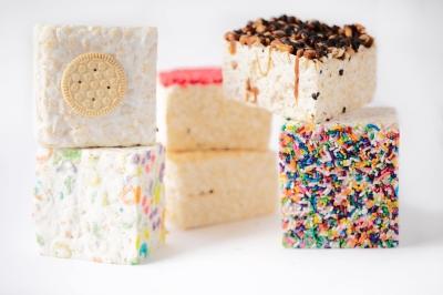 Crispy cakes are at Lolli & Pops!